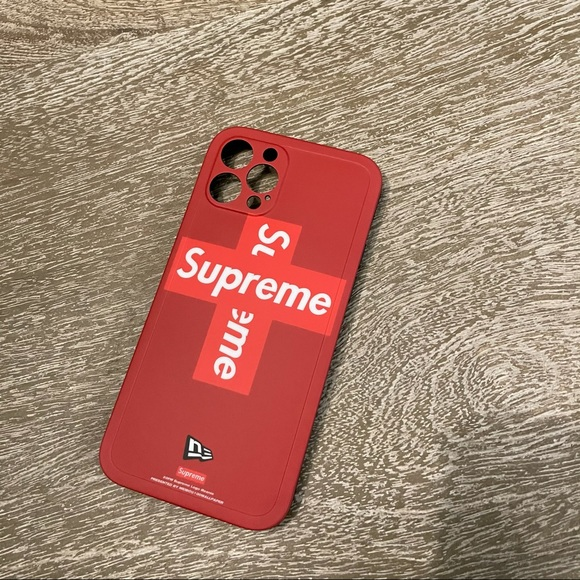 iPhone 12 Pro case - supreme red
